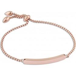Bracelet acier rose chaîne...