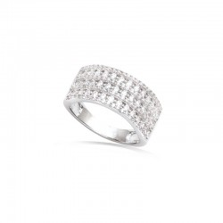 copy of Bague croisée strass