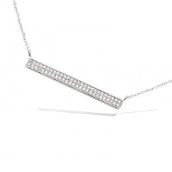 Collier rectangle long...