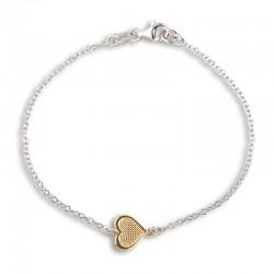 Bracelet centre coeur...