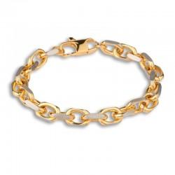 Bracelet acier gold forçat...