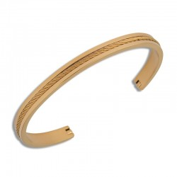 copy of Bracelet acier gold...