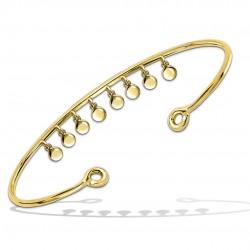 Bracelet jonc Pastilles...
