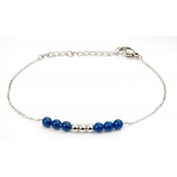 Bracelet Callas acier brodé...