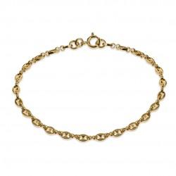 Bracelet gourmette marine...