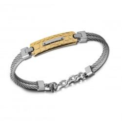 Bracelet CALLAS cable acier...