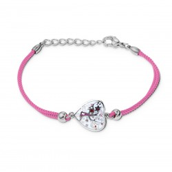 Bracelet CALLAS cordon rose...