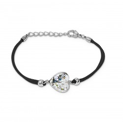 Bracelet CALLAS cordon noir...